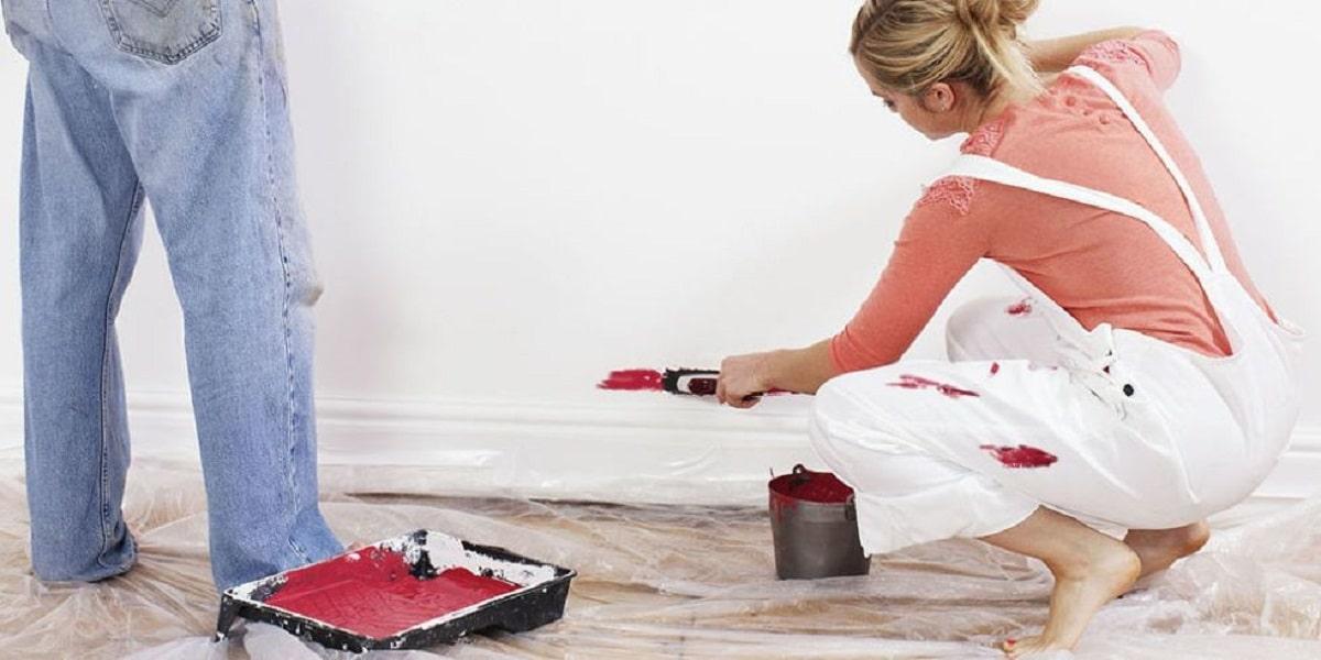 Cómo limpiar pintura del suelo